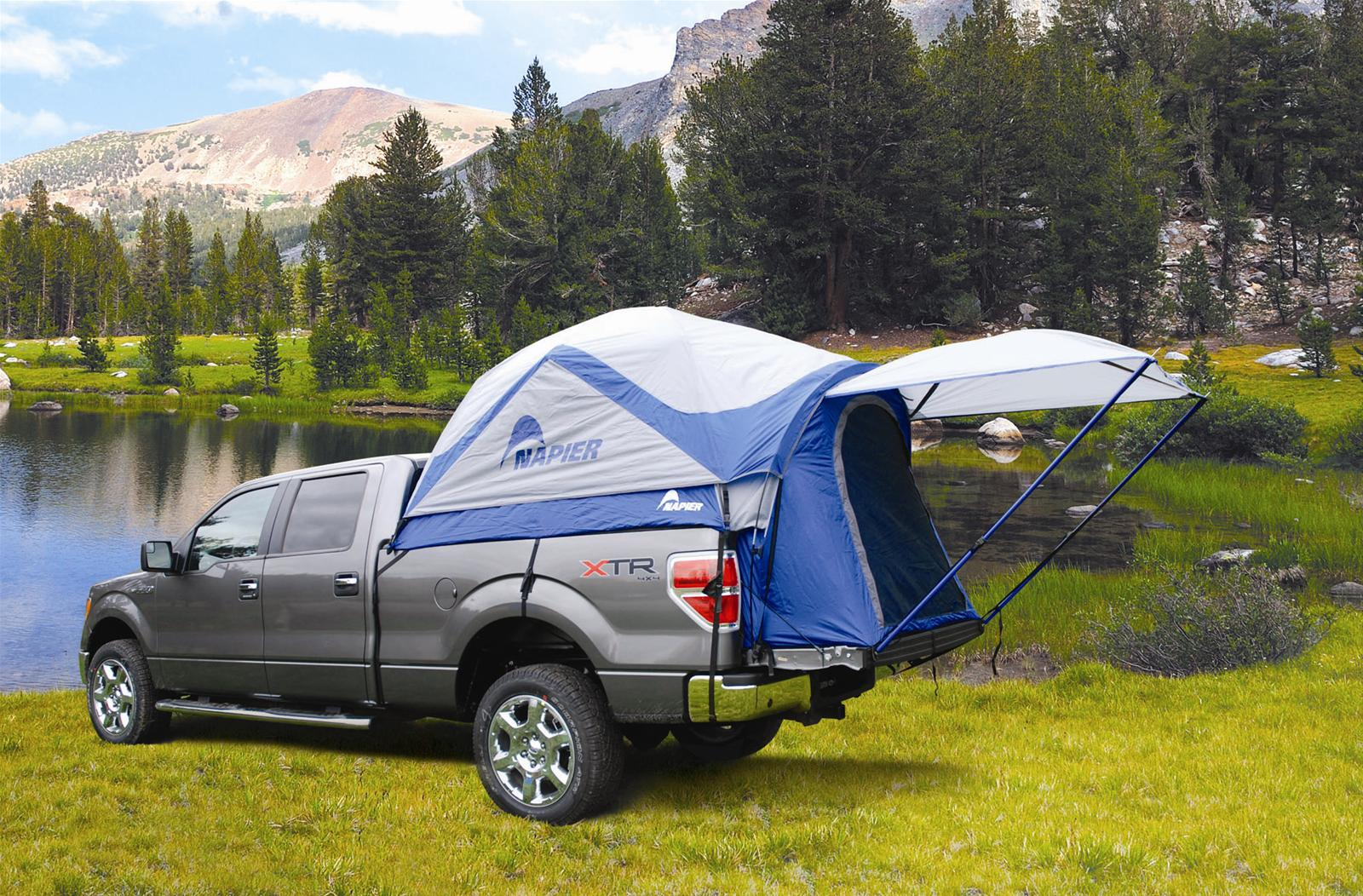 Tips For Tent Camping In A Truck Traveling Mailbox